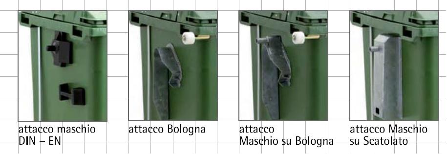 ATTACCHI Porta Rifiuti